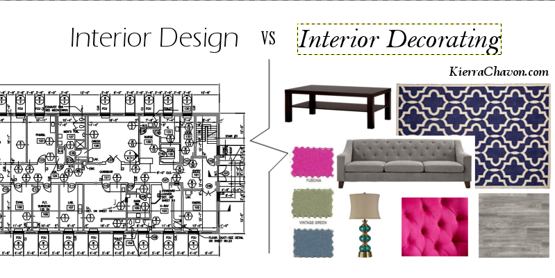 Interior Design Vs Interior Decorating